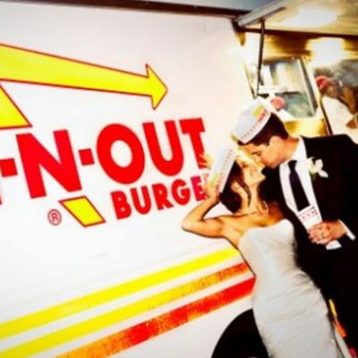 In N Out Burger at Your Wedding
