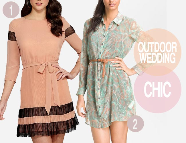 Fall Dresses To Wear To A Wedding Casual outdoor wedding guest dresses