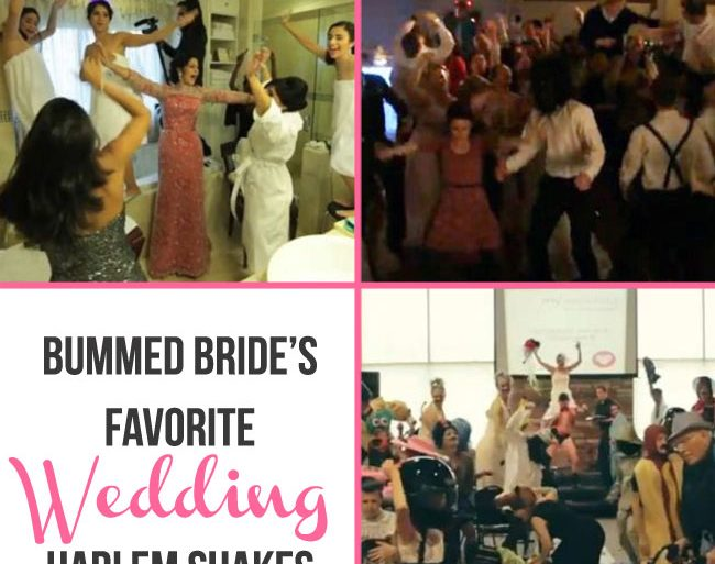 wedding harlem shakes favorites