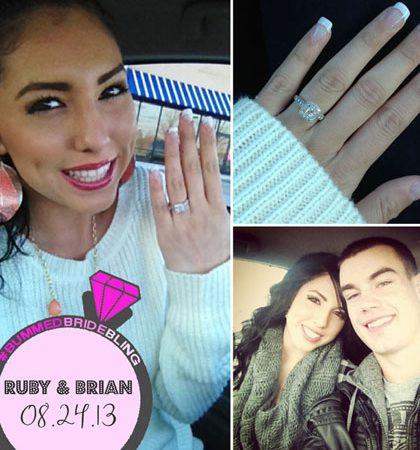 Bummed Bride Bling: Ruby & Brian