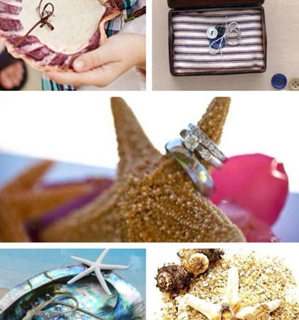 Inspiration of the Day: Summary Alternatives to Ring Bearer Pillows