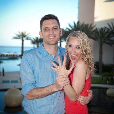 Surprise Engagement in San Jose Del Cabo, Mexico