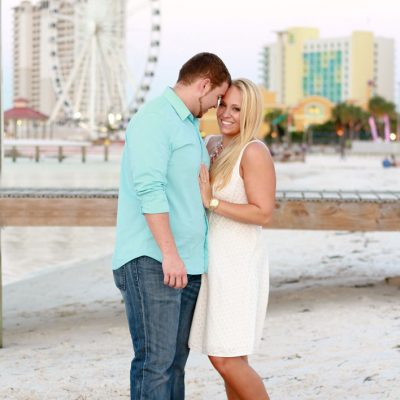 Breathtaking Ferris Wheel Proposal on Pensacola Beach