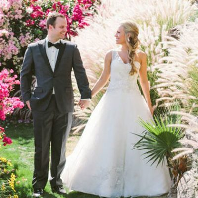 Spring Wedding at the O'Donnel House in Palm Springs