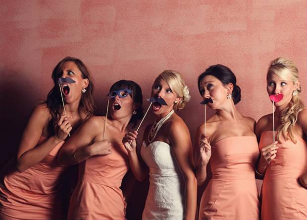 mustache-wedding-bridesmaids