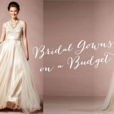 Inexpensive Bridal Gowns That Make Us Want to Twirl!