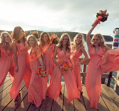 Friday Randomness and Bridesmaids Wearing Rompers?!