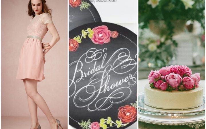 Sweet and Simple Bridal Shower Inspiration
