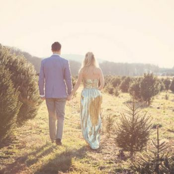 Proof that Wearing a Glam Dress in a Field is a Good Idea!