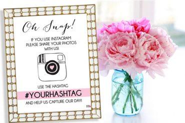 Bummed Bride Free Instagram Wedding Sign Download