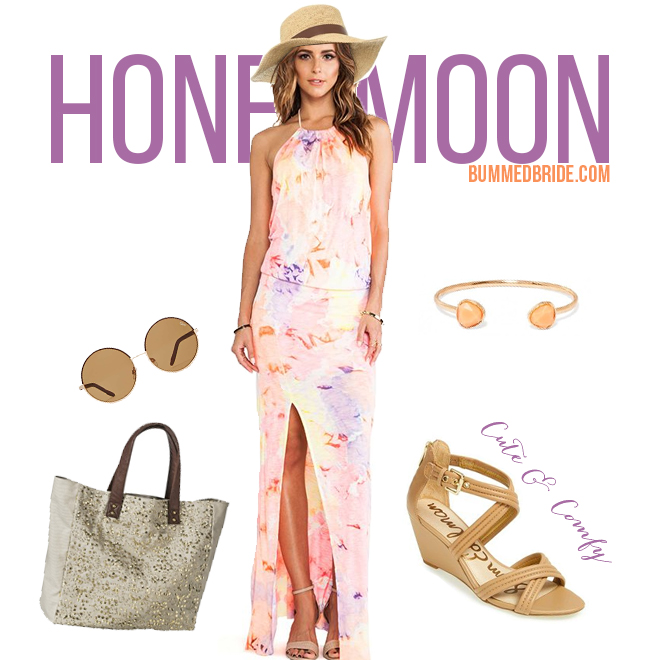 Comfy honeymoon outfit