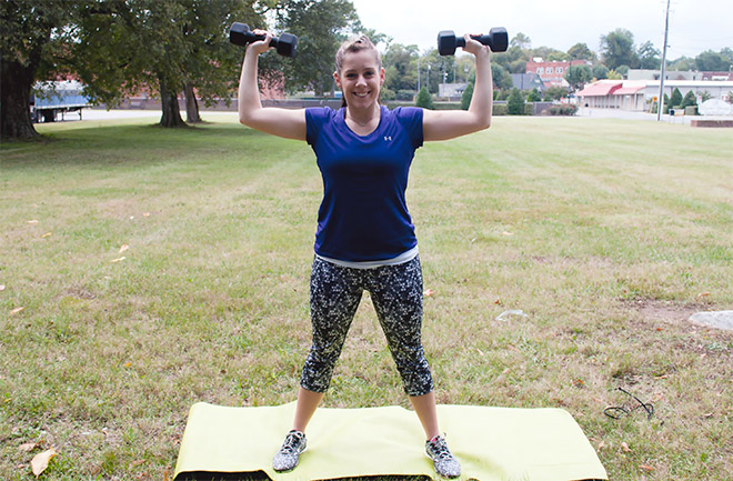Fit Friday: Wedding Arm Workout