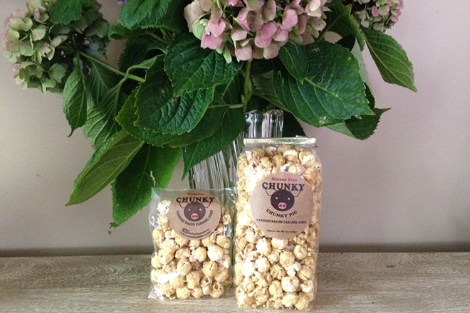 We're in LOVE with Chunky Pig Love Popcorn!