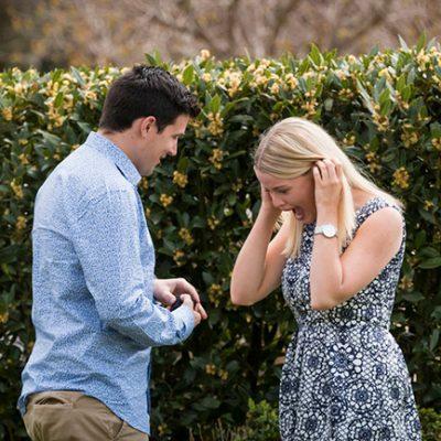 Romantic Surprise Proposal at Yering Station