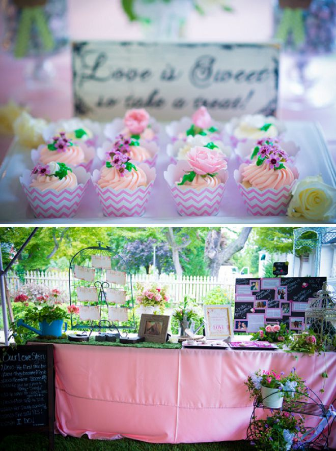 Photography: Cristina Calvi // Linens: The Finishing Touch // Cupcakes ...