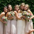 Spring bridesmaids from Bohemian Kansas Ciity wedding