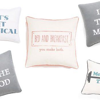 Perfect Pillows for Pillow Talk