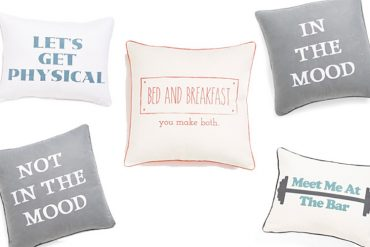 Pillow Talk: In the Mood and Not in the Mood Pillows