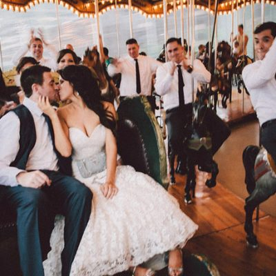 Speakeasy Style Industrial Wedding