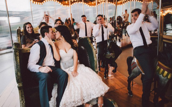Speakeasy Style Industrial Wedding