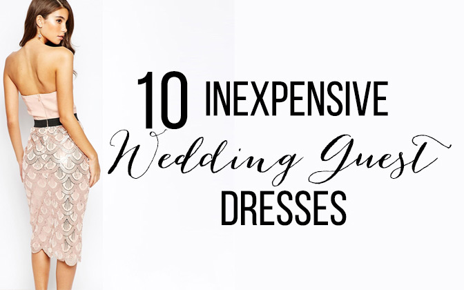 1299e00fcbf9 Inexpensive Summer Wedding Guest Dresses • Bumps and Bottles