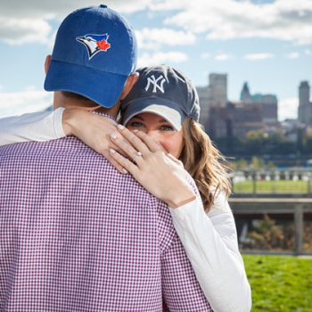 South Street Seaport Engagement Session in NYC