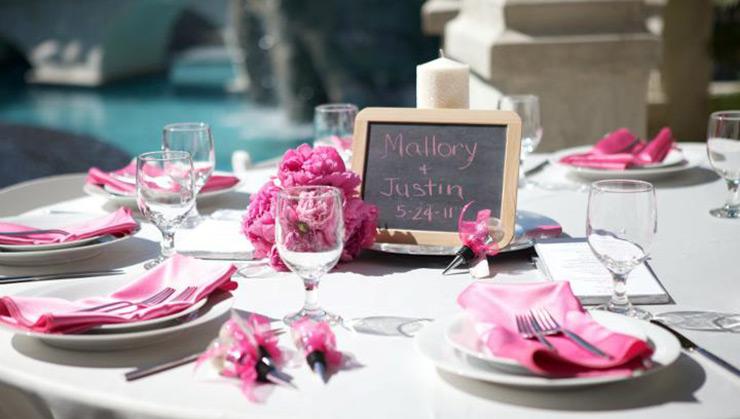 Wedding reception venue at 2810 in Las Vegas Nevada