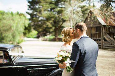 Farmhouse wedding at Emu Bottom Homestead