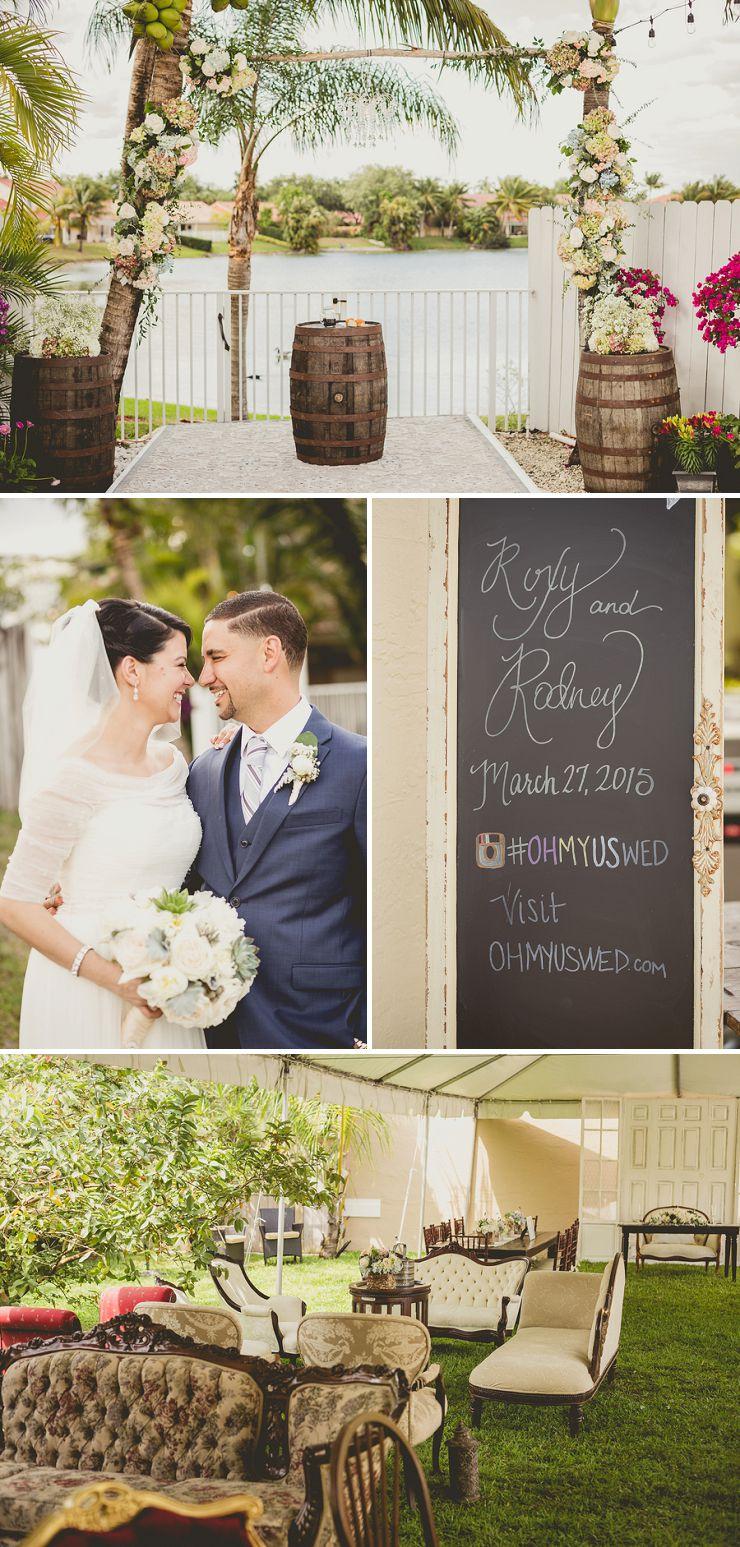 Intimate Backyard Wedding in Miami_0002
