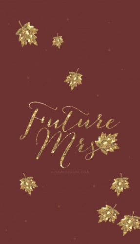 fall edition future mrs iphone wallpaper bummed bride