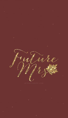 fall edition future mrs iphone wallpaper single bummed bride