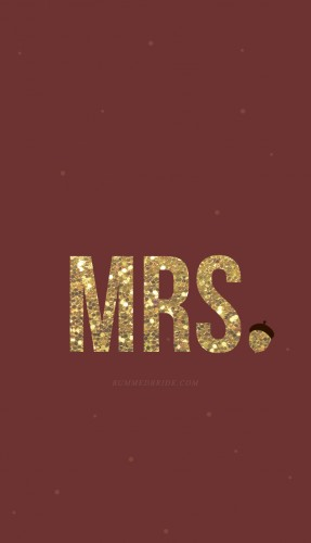 mrs iphone wallpaper bummed bride