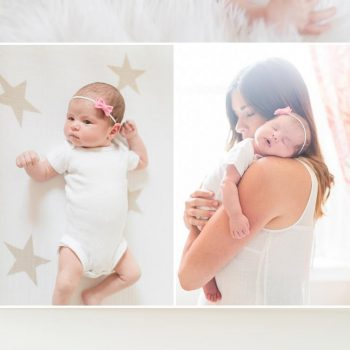 Soft Pink Girl's Nursery and Newborn Session by Erika Brown Photography