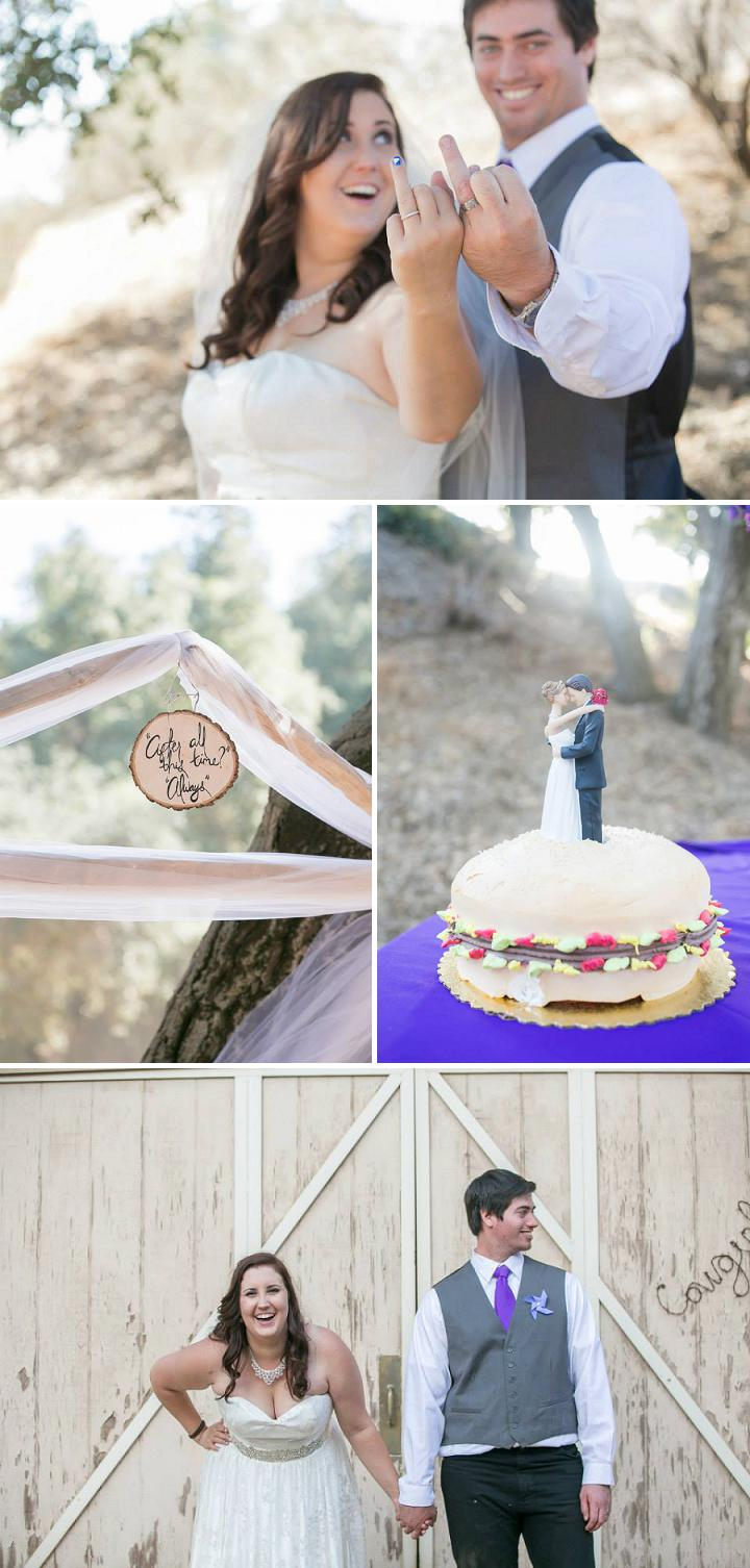 Blue ombre country wedding_0007