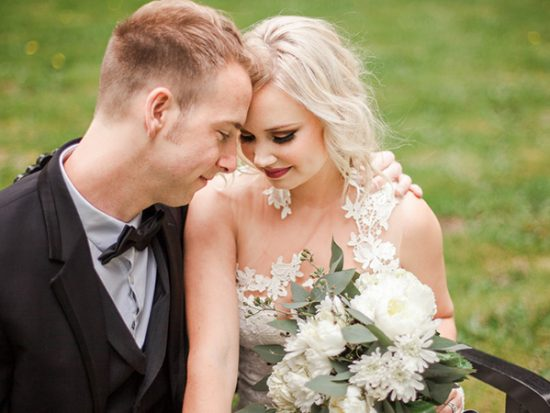 Fresh Black and White Wedding Ideas