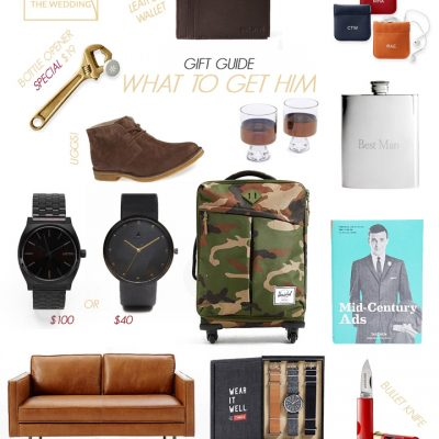 Groomsmen Gifts for the Men in Your Life