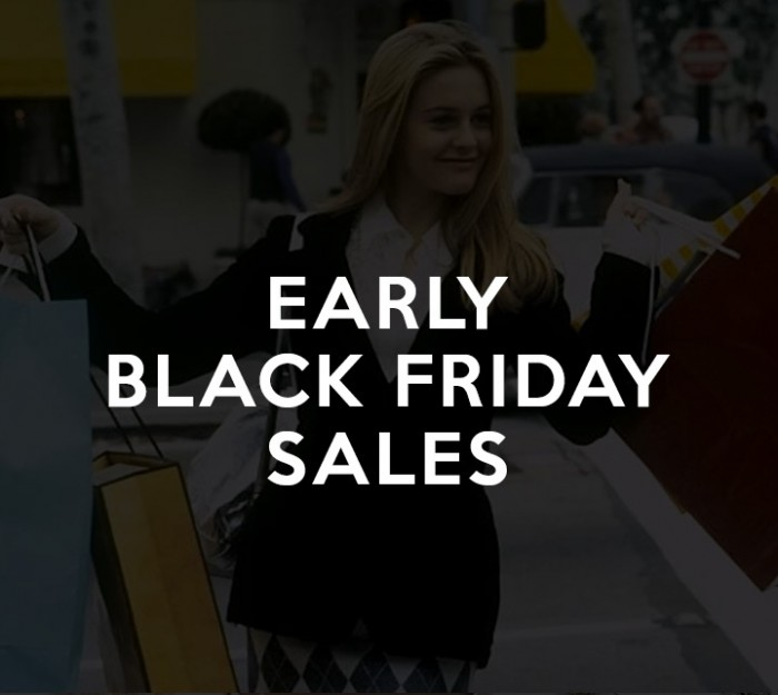 Early Black Friday Sales 2015