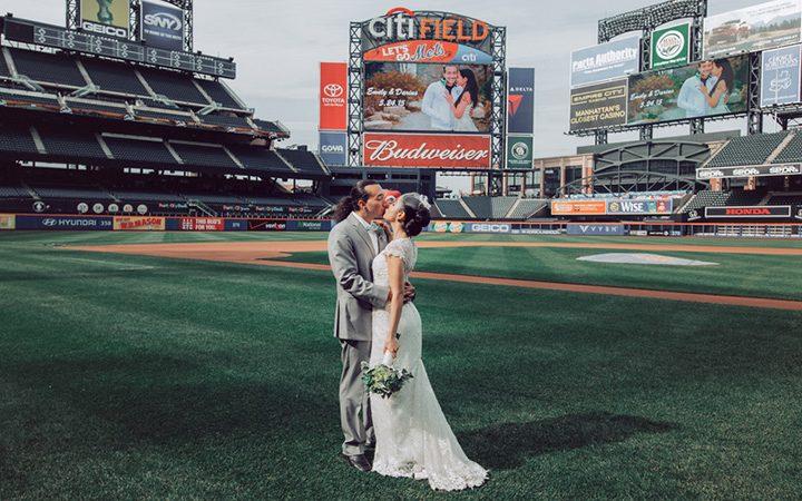 Home Run Wedding at the Citi Field Ballpark!