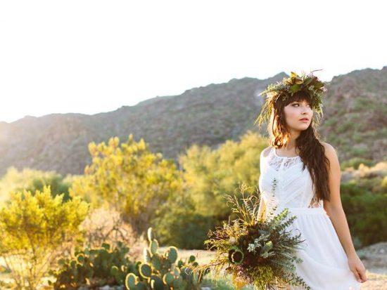 Desert Boho Bridal Portraits