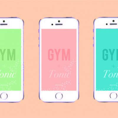 Gym and Tonic iPhone Wallpaper