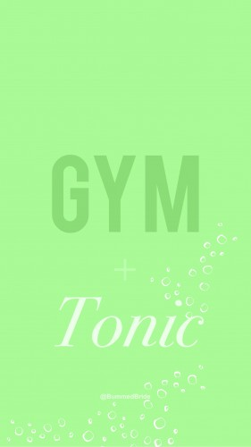 gym and tonic wallpaper green bummed bride