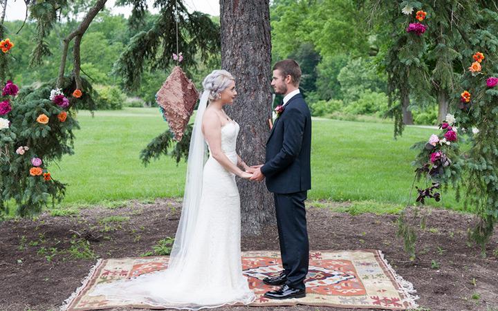 Alternative Garden Wedding Inspiration