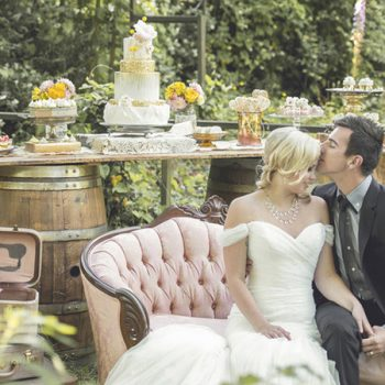 Rustic Garden Wedding Inspiration