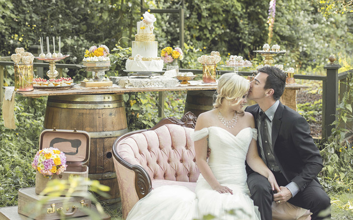 Rustic Garden Wedding Inspiration