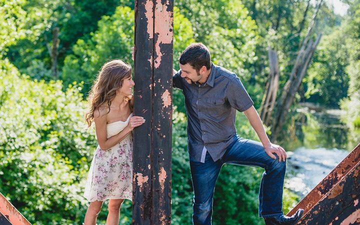 Spring Engagement Photo Ideas Bumps And Bottles