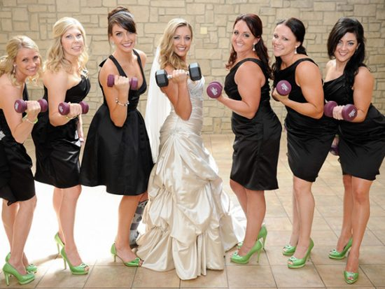 How to Have a Fitness Themed Wedding