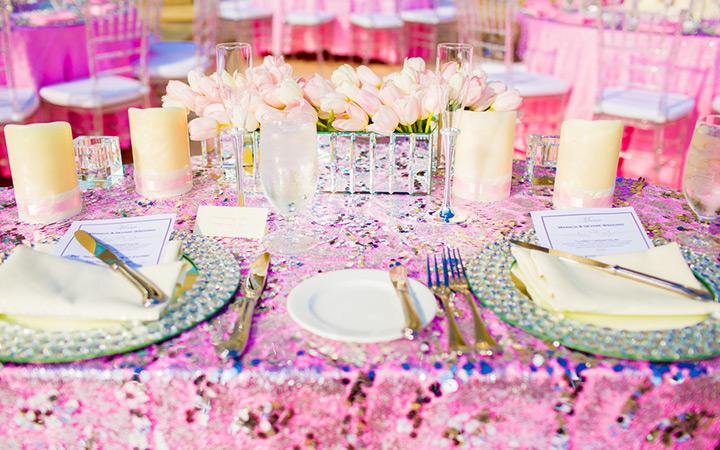 Glam Wedding at Hyatt Regency in Orlando, Florida