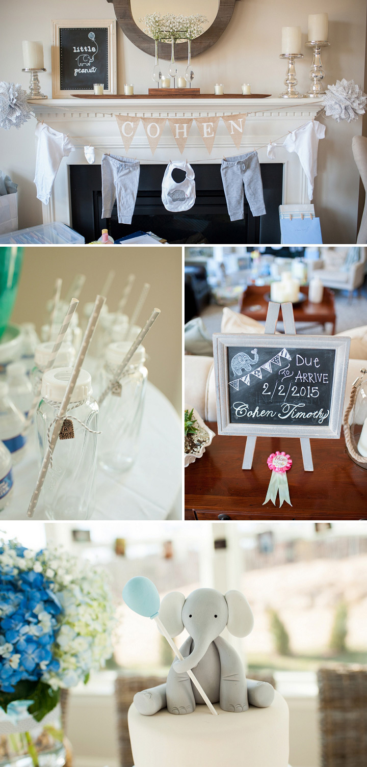 Storybook baby shower decorations
