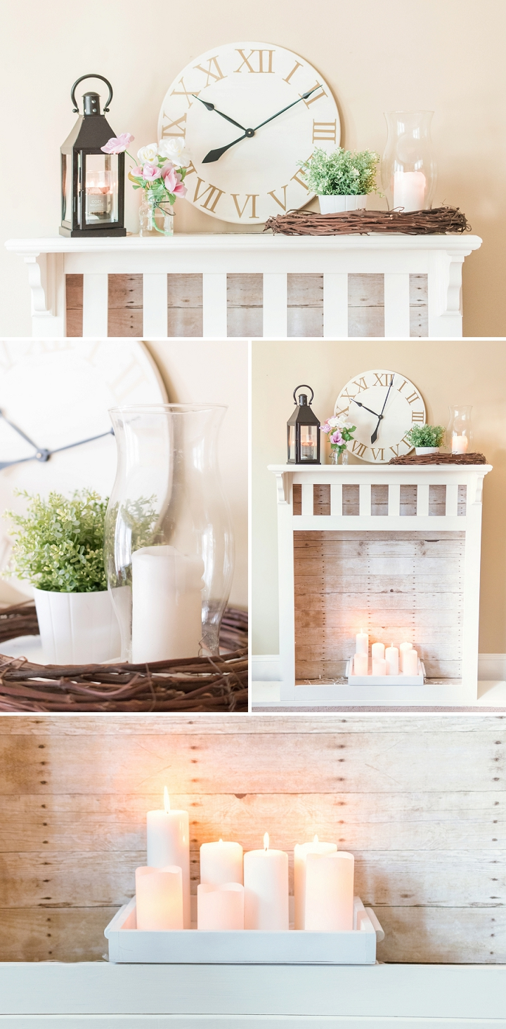 DIY Pottery Barn Inspired Clock and Fireplace_0001