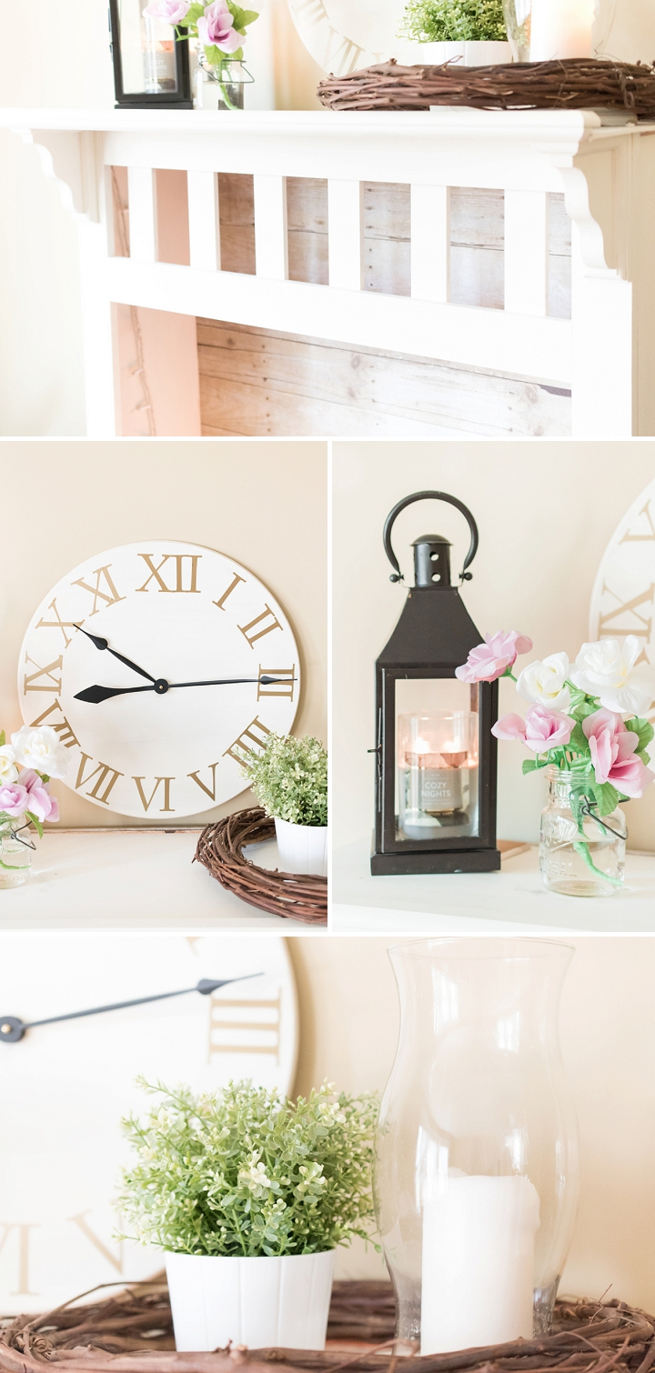 DIY Pottery Barn Inspired Clock and Fireplace_0002